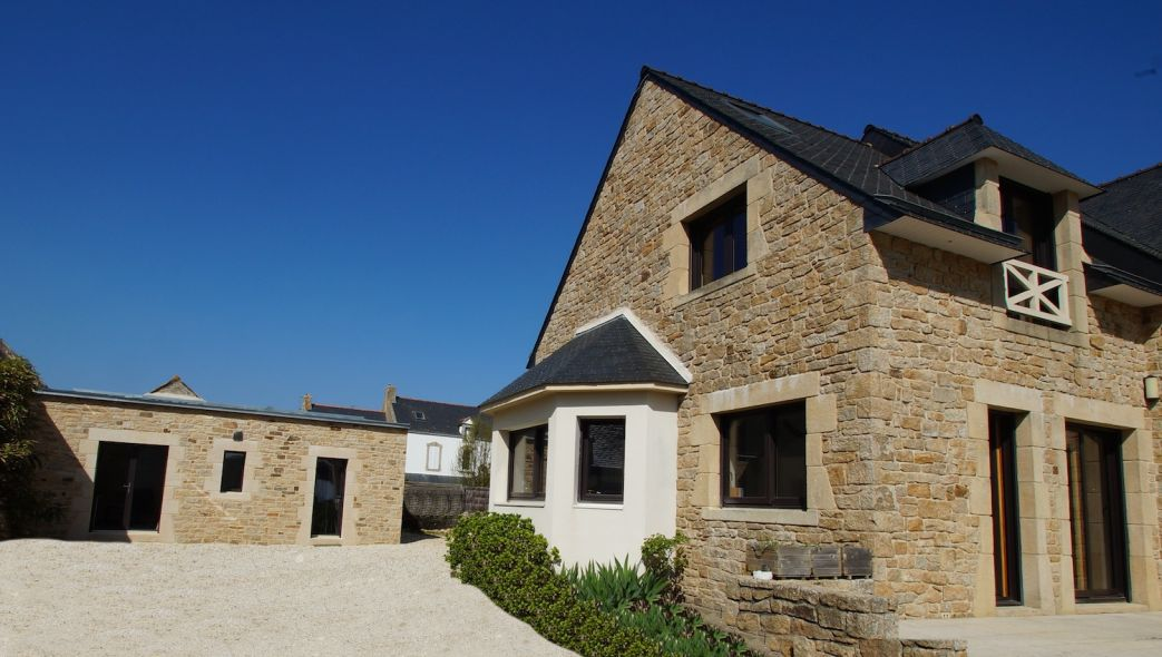 Construction annexes en Pierres Morbihan